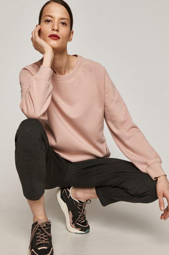 pastelowy różowy Medicine - Bluza Basic Damski