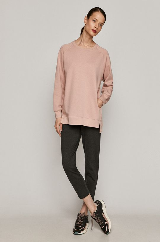 Medicine - Bluza Basic pastelowy różowy