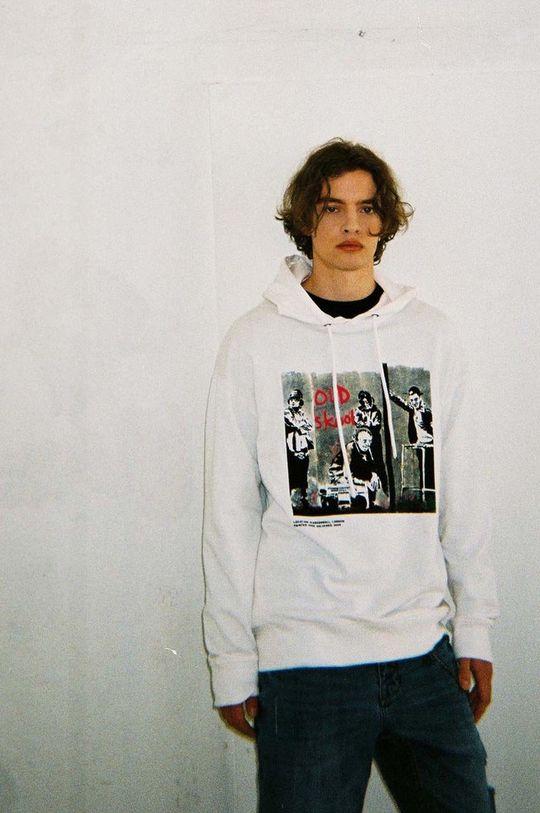 biały Medicine - Bluza bawełniana Banksy's Graffiti Męski