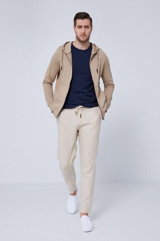 beżowy Medicine - Bluza bawełniana Essential Męski