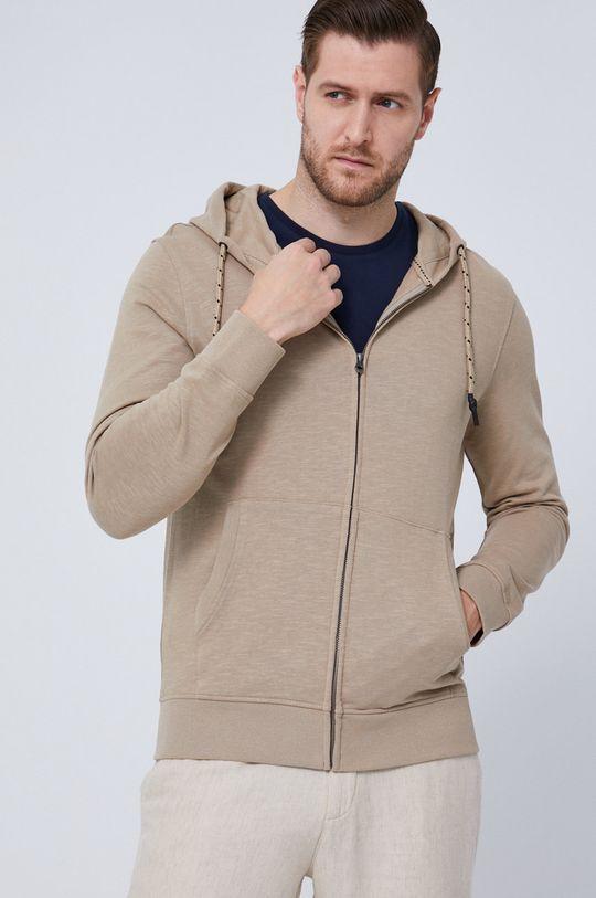 Medicine - Bluza bawełniana Essential beżowy