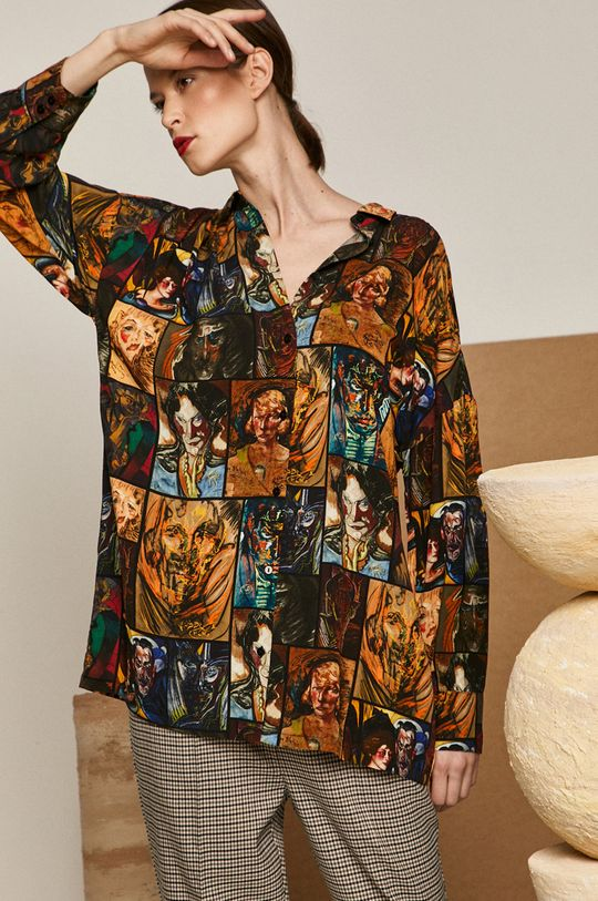 vícebarevná Medicine - Košile Eviva L arte Dámský