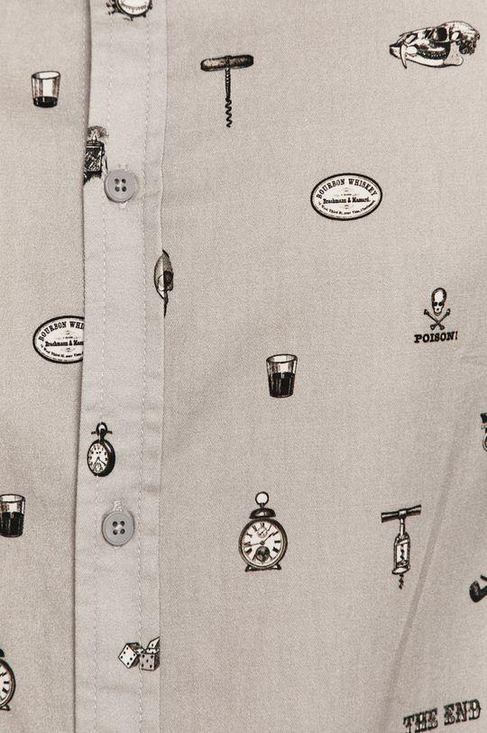 Medicine - Koszula bawełniana Basic jasny szary