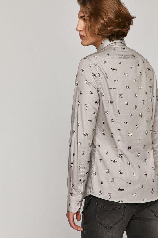 jasny szary Medicine - Koszula bawełniana Basic