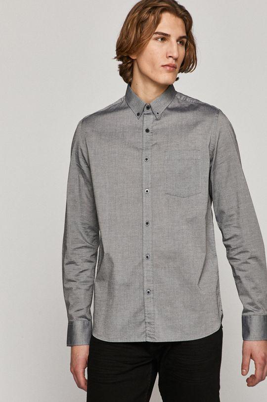 šedá Medicine - Bavlněné tričko Basic Pánský