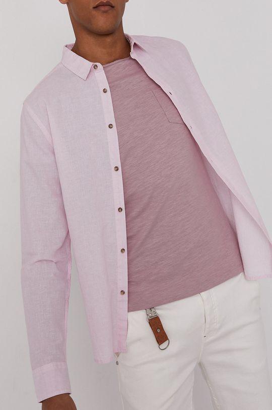 roz pastelat Medicine - Camasa Basic De bărbați