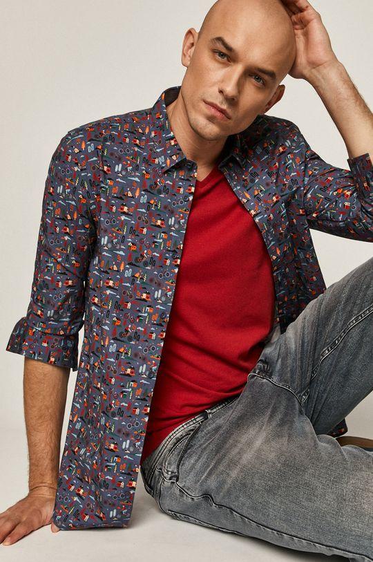 oceľová modrá Medicine - Košeľa Retro Cool Pánsky