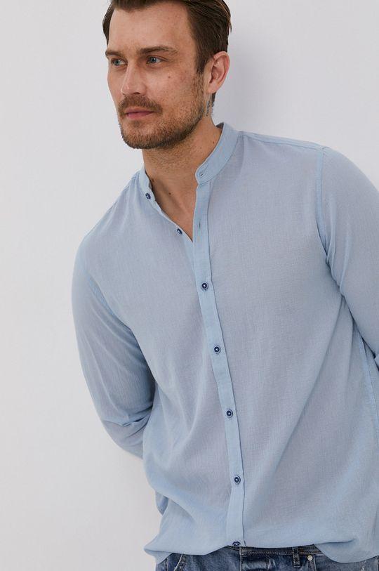 světle modrá Medicine - Bavlněná košile Summer Heat Pánský
