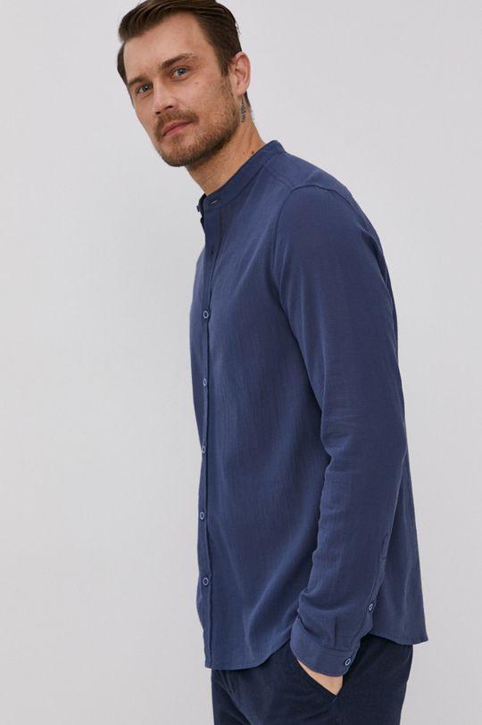tmavomodrá Medicine - Bavlnená košeľa Summer Heat Pánsky