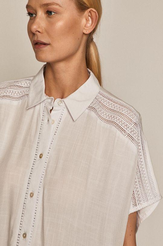 biały Medicine - Koszula Essential Damski