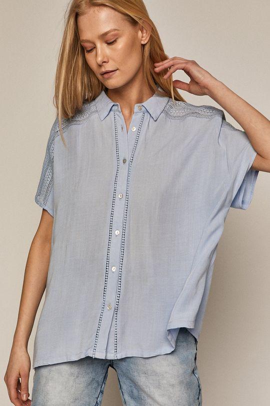 blady niebieski Medicine - Koszula Essential Damski