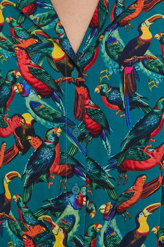 Medicine - Košile Tropical Chaos tyrkysová
