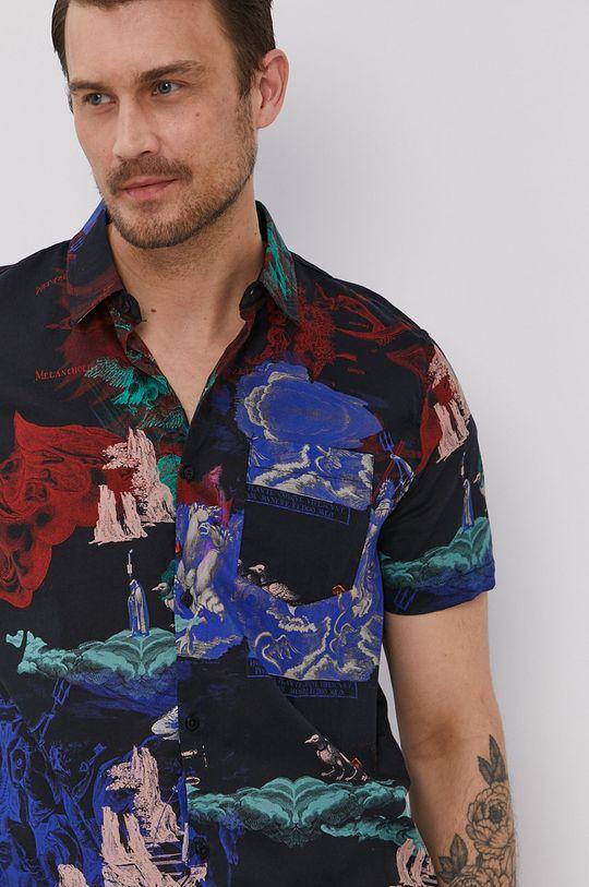 viacfarebná Medicine - Bavlnená košeľa Summer Heat Pánsky