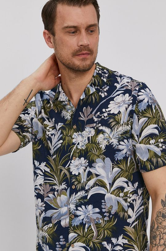 vícebarevná Medicine - Košile Summer Camp Pánský