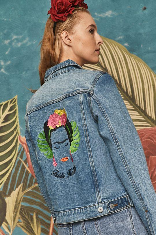 světle modrá Medicine - Džínová bunda Frida Kahlo Dámský