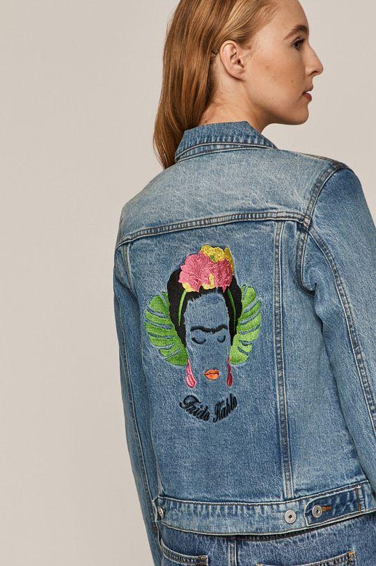 světle modrá Medicine - Džínová bunda Frida Kahlo