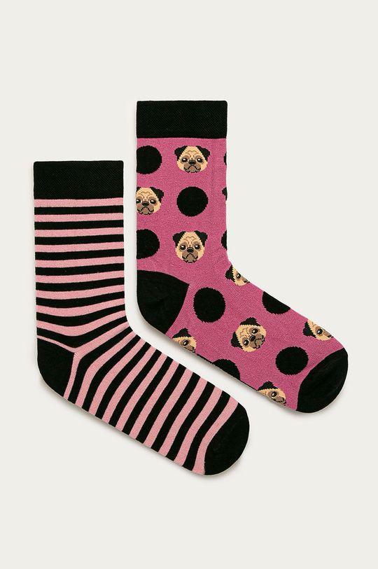viacfarebná Medicine - Ponožky Animals (2-pak0 Dámsky