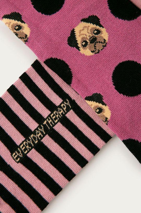 Medicine - Ponožky Animals (2-pak0 viacfarebná
