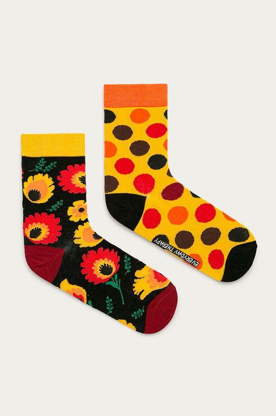 vícebarevná Medicine - Ponožky Funny (2-pack) Dámský