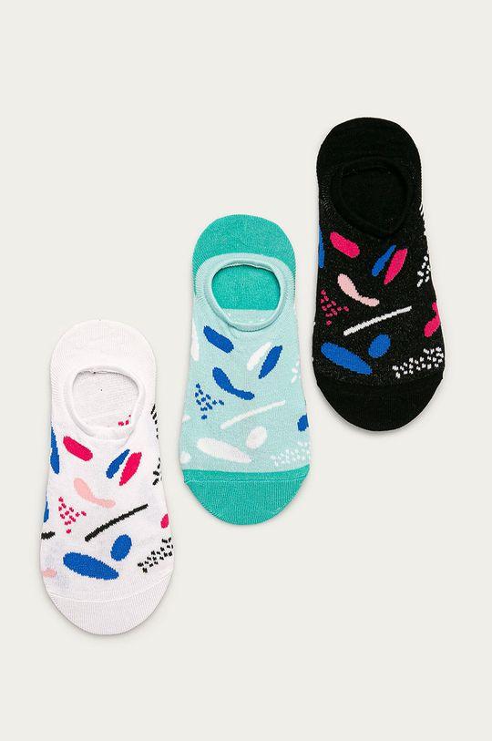 viacfarebná Medicine - Ponožky Basic (3-pak) Dámsky