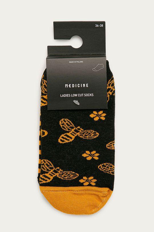 Medicine - Ponožky Animals (2-pack)  75% Bavlna, 2% Elastan, 23% Polyamid