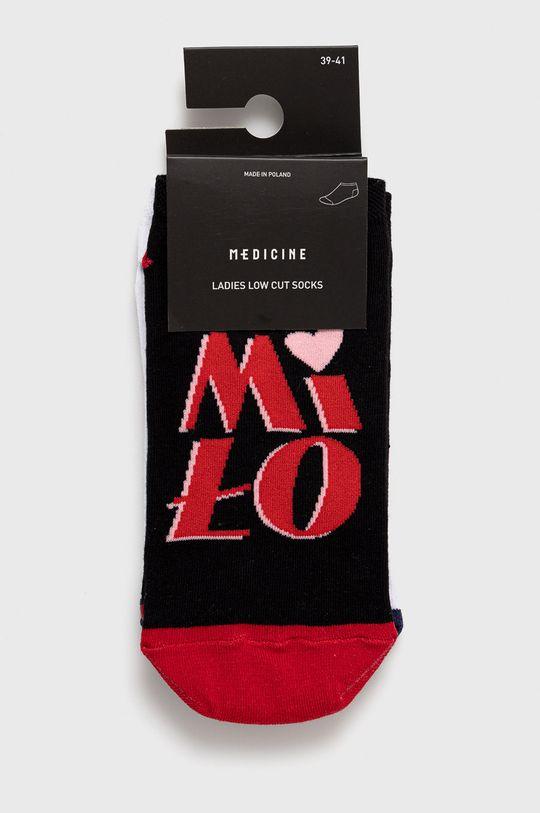 Medicine - Ponožky Grafika Polska (2-pack) viacfarebná