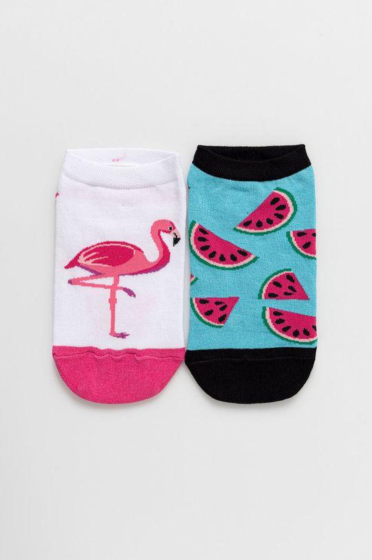 viacfarebná Medicine - Ponožky A_Funny Dámsky