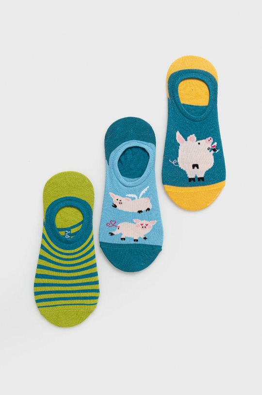 viacfarebná Medicine - Ponožky Animals (3-pak) Dámsky