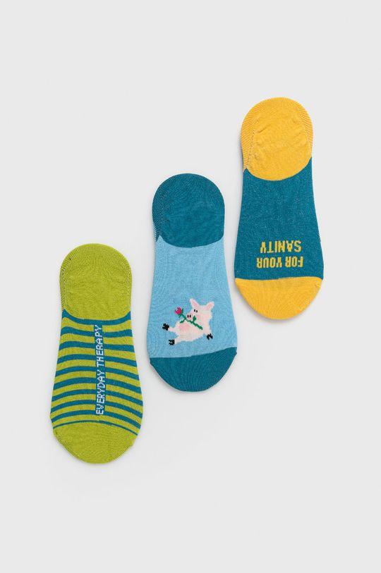 Medicine - Ponožky Animals (3-pak) viacfarebná