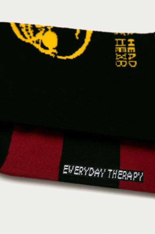vícebarevná Medicine - Ponožky Funny (2-PACK)