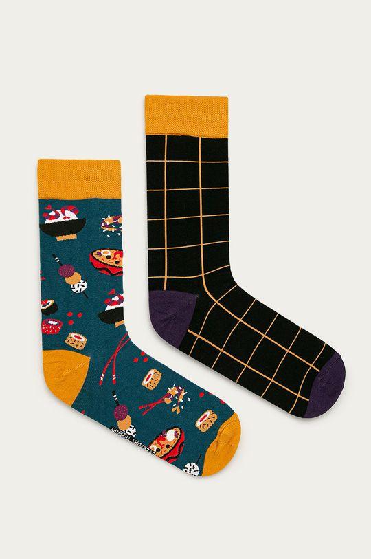 vícebarevná Medicine - Ponožky Funny (2-pack) Pánský