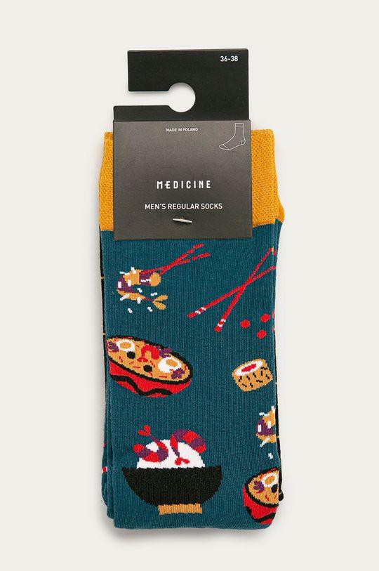 Medicine - Ponožky Funny (2-pack)  75% Bavlna, 2% Elastan, 23% Polyamid