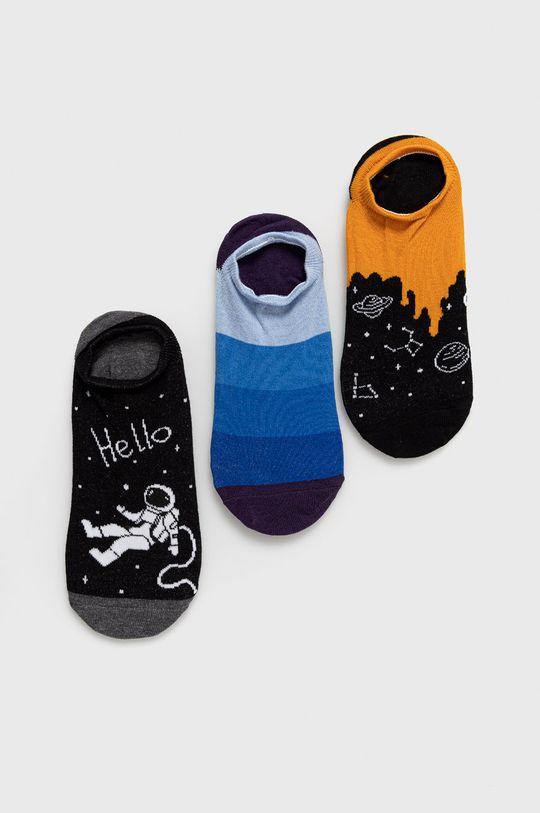 viacfarebná Medicine - Ponožky Funny (3-pak) Pánsky