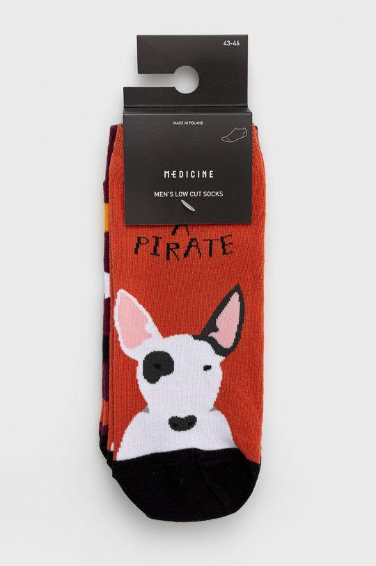 vícebarevná Medicine - Ponožky Animals (2-pack)