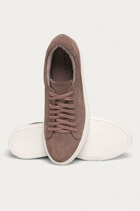 roz violet Medicine - Pantofi de piele intoarsa Basic