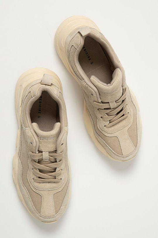 béžová Medicine - Topánky Summer Linen