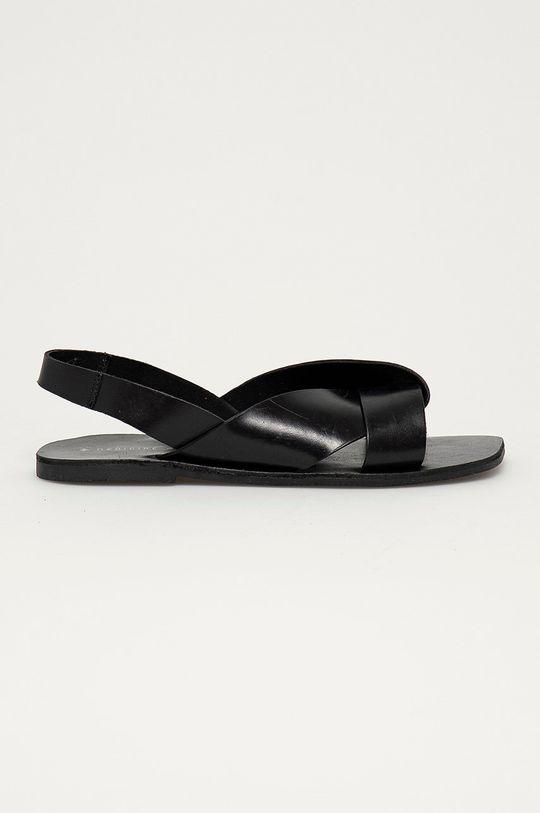 černá Medicine - Kožené sandály Summer Fest Dámský