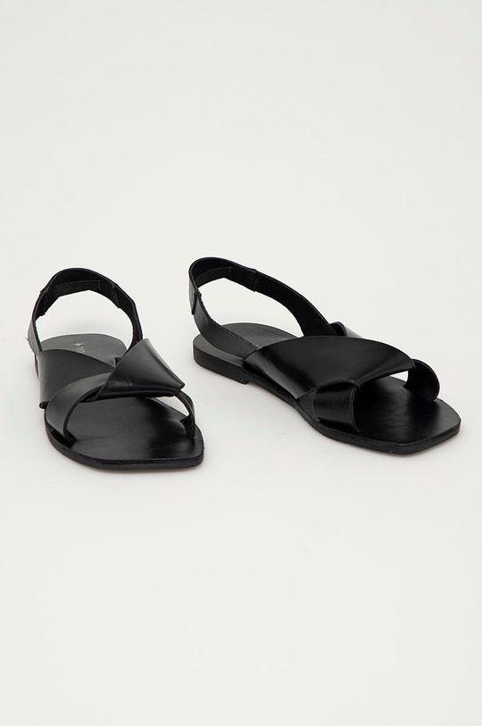 Medicine - Kožené sandály Summer Fest černá
