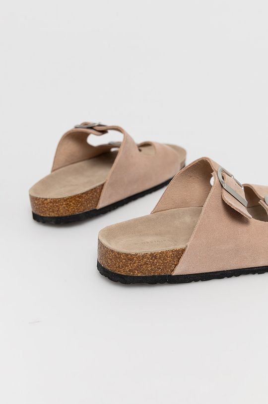 Medicine - Semišové pantofle Summer Linen  Svršek: Přírodní kůže Podrážka: Umělá hmota