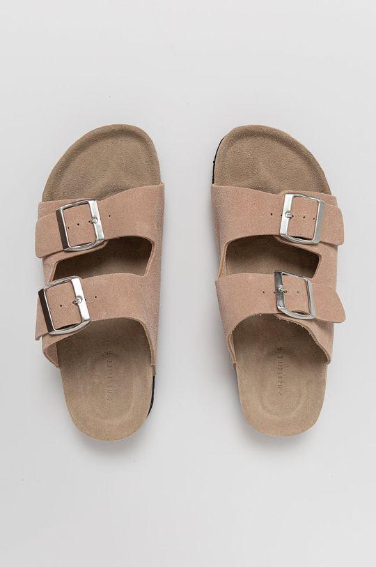 Medicine - Semišové pantofle Summer Linen Dámský