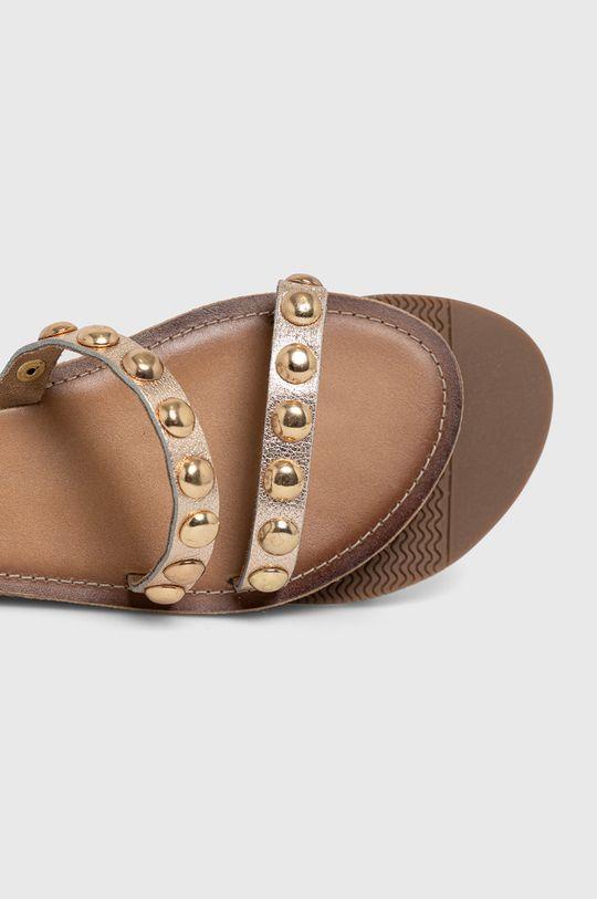 zlatá Medicine - Kožené sandály Essential