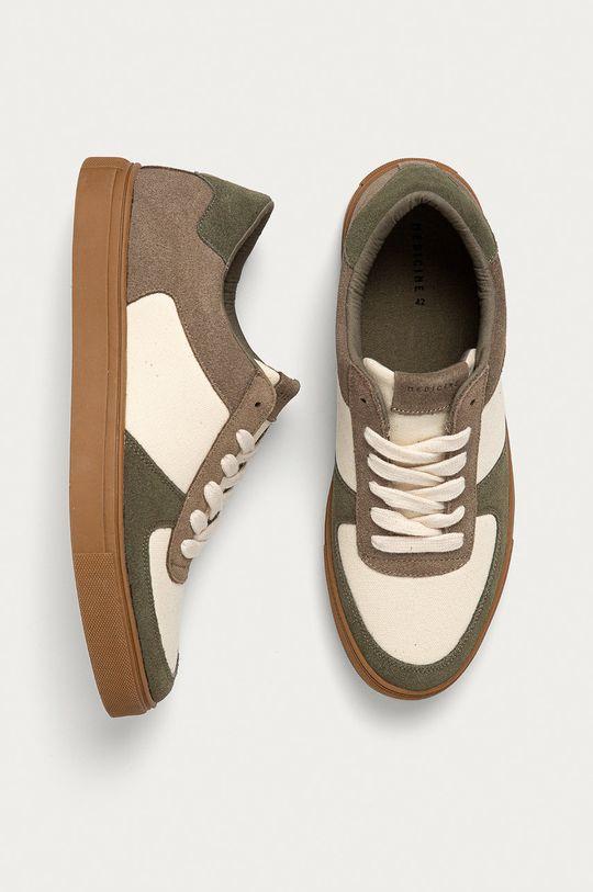 béžová Medicine - Topánky Casual Elegance