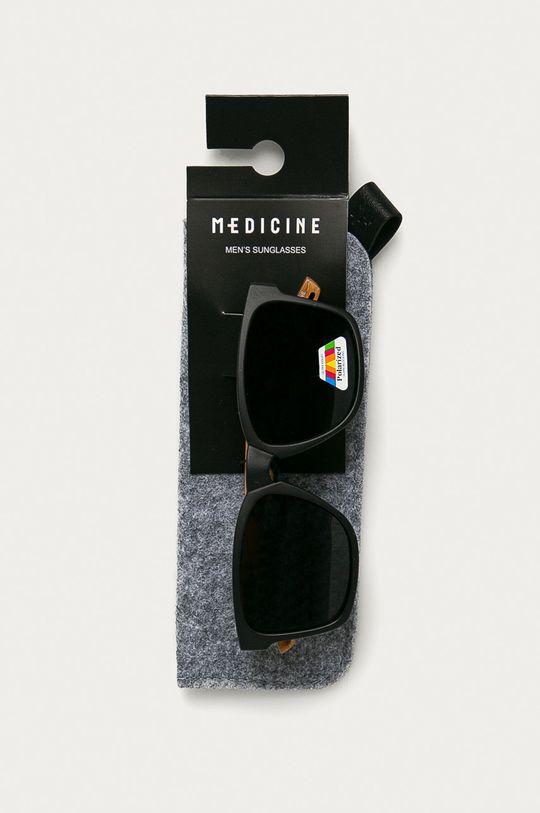 čierna Medicine - Slnečné okuliare Basic