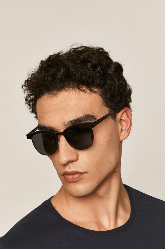czarny Medicine - Okulary Basic Męski
