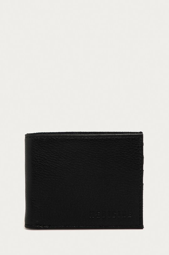 černá Medicine - Kožená peněženka Basic Pánský