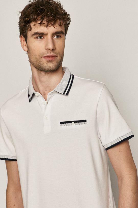 bílá Medicine - Polo tričko Basic Pánský