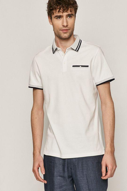 bílá Medicine - Polo tričko Basic