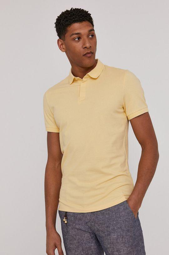 Medicine - Polo tričko Basic jasně žlutá