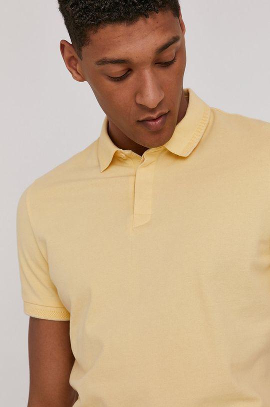 jasně žlutá Medicine - Polo tričko Basic