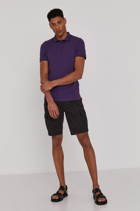 Medicine - Polo tričko Basic fialová